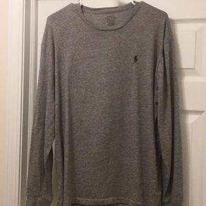 Men's Long Sleeve POLO Classic Fit Shirt